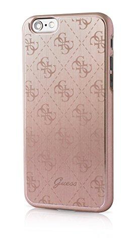 Guess GUHCP6MEPI 4G Collection Metallic Hard Case für Apple iPhone 6/6S 11,9 cm (4,7 Zoll) rosa