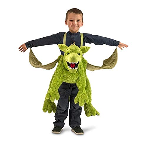 Princess Paradise Green Ride-in Dragon Costume, One Size -