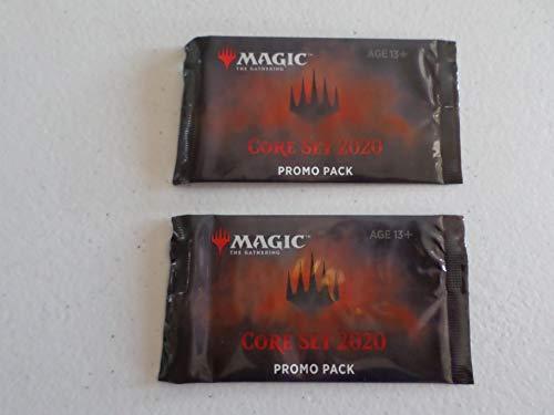 (2) Core Set 2020 Promo Packs (4 Cards Per - Set Promo
