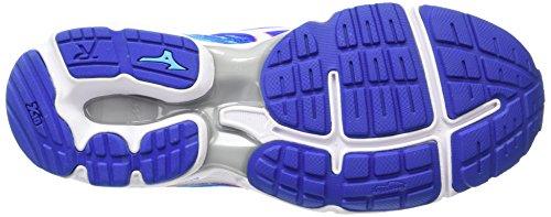 Mizuno Wave Rider 19 (W) - Zapatillas de running Mujer Blue (Dazzling Blue/White/Capri)