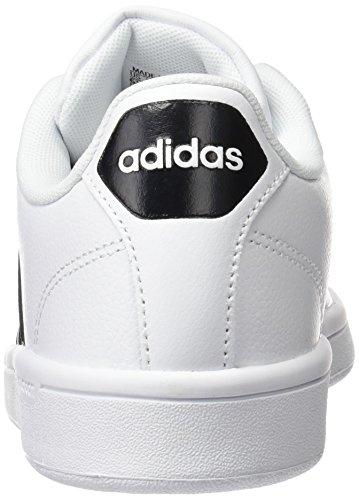 Adidas Donna nero Bianco Da Scarpe Cloudfoam Advantage Ginnastica zwqzpn6