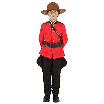 Child Canadian Mountie Costume: Clothing
