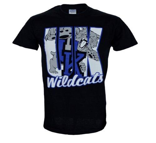 NCAA Champions University of Kentucky Wildcats UK Basketball : Kentucky Andromena T-Shirt On Short Sleeve -