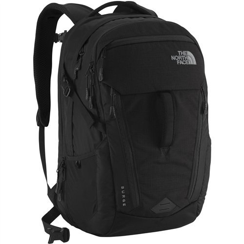 The North Face Side Zip Backpack - The North Face Surge TNF Black One Size