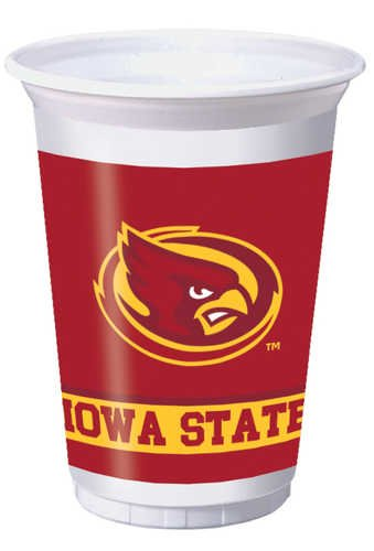 Creative Converting Iowa State Cyclones Plastic Banquet Table Cover 724701