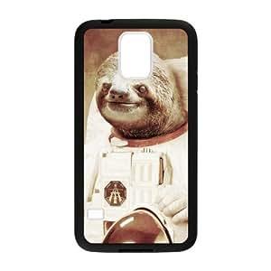 Custom Astronaut Sloth Back Cover Case for Samsung Galaxy S5 (Laser Technology) GPP-275