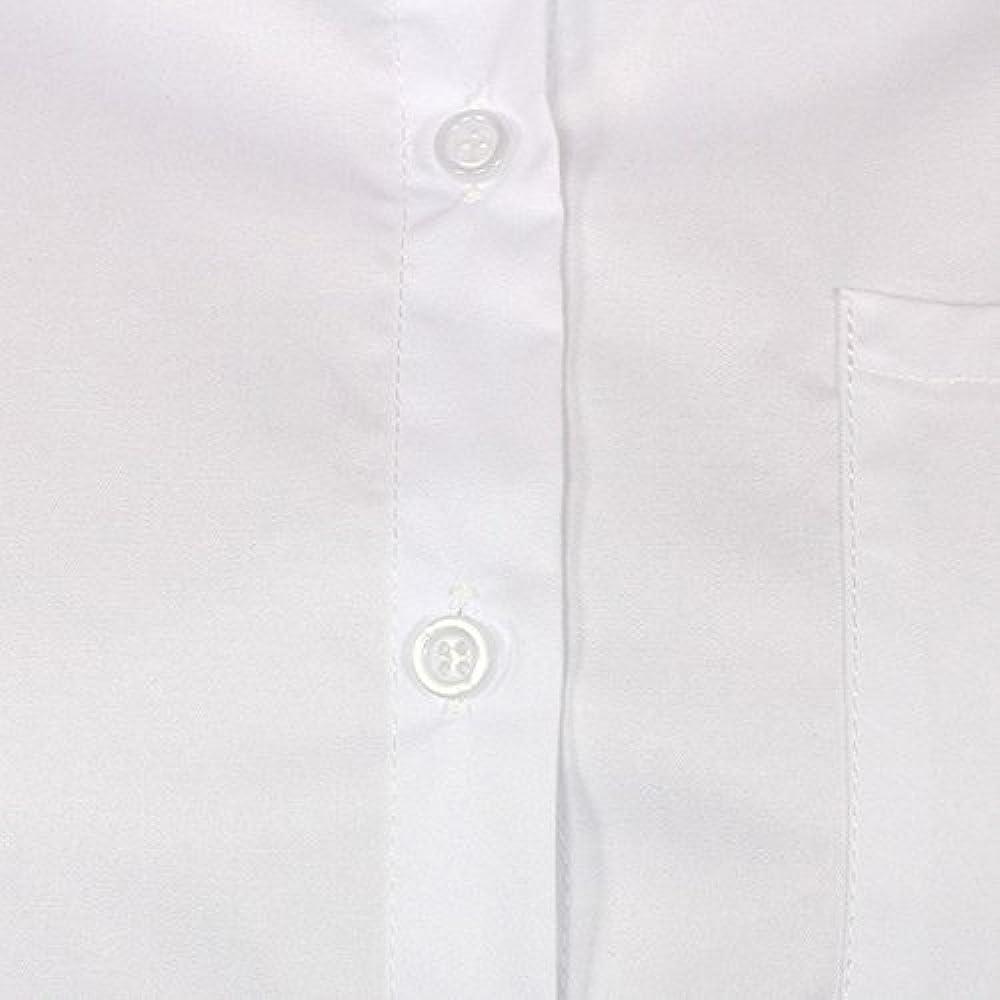 Cikuso - Camisa de manga larga para mujer, estilo casual, tallas grandes, color blanco, talla L blanco XL: Amazon.es: Ropa y accesorios