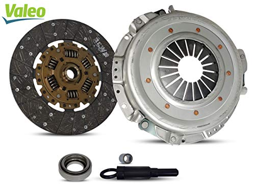 Clutch Kit Valeo works with Nissan Frontier Pathfinder Xterra Xe Se Le Extended Crew Cab Pickup 4-Door Sport Utility 4-Door 1997-2004 3.3L V6 GAS SOHC Naturally Aspirated (Vg33E)