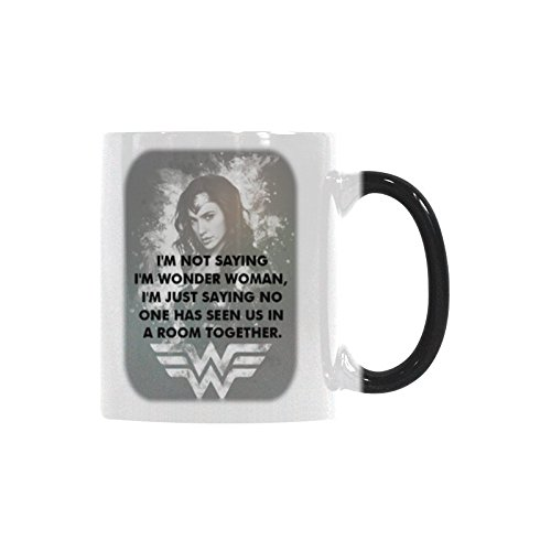 - Morph Tea Cup I'm Not Saying I'm Wonder Woman Coffee Mug Color Change Heat Sensitive 11 Ounces