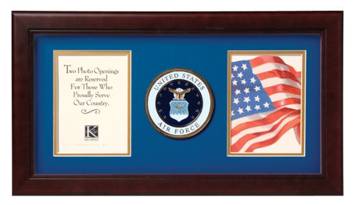 Allied Frame United States Air Force Dual Picture Frame (Force Air Frame)