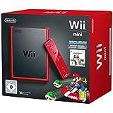 Nintendo Wii Mini Roja con Mario Kart [Importación Alemana]