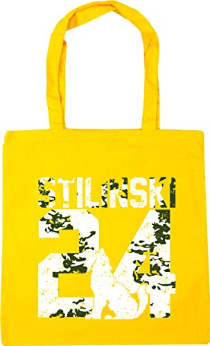 litres Bag HippoWarehouse x38cm 42cm 10 Stilinski Beach Shopping 24Tote Yellow Gym wxz7qFPx