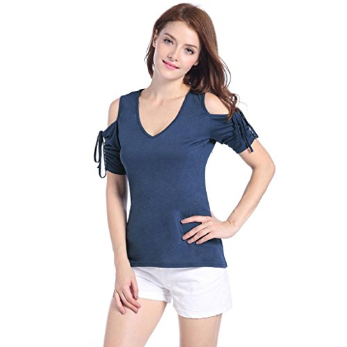 PRIAMS 7 - Camiseta - para mujer Azul Zafiro