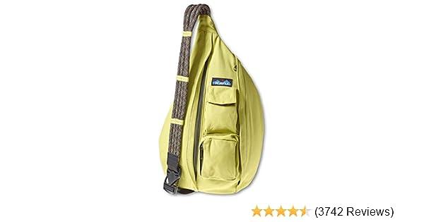 aef136dde95202 Amazon.com: KAVU Rope Bag, Acid Green, One Size: Clothing