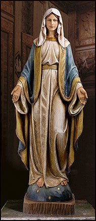 Cb catholic nd152 48 in. our lady of grace statue