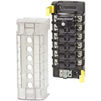 BLUE SEA SYSTEMS Blue Sea 5050 ST CLB Circuit Breaker Block - 6 Position / 5050 /