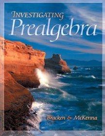 Investigating Prealgebra