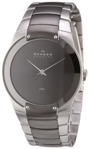 Skagen Men's 861XLSMXM Quartz 2 Hand Stainless Steel Gray Watch