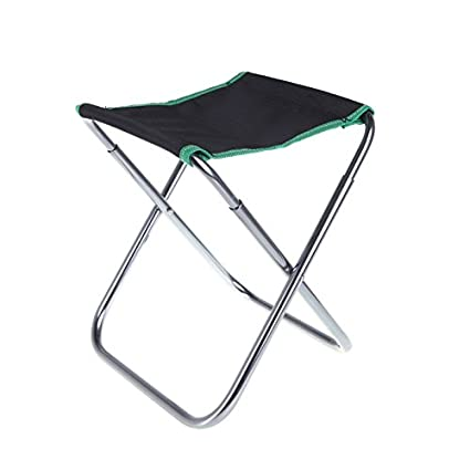 BEST.LIV Portable Folding Camping Chair Outdoor Fishing Stool for BBQ Camping Travel with Carry Bag
