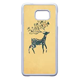 DIY DEER Theme Phone Case Fit To Samsung Galaxy S6 Edge Plus , A Good Gift To Your Family And Friends
