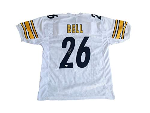 Le'Veon Bell Pittsburgh Steelers Away White Autographed Signed Jersey Memorabilia - JSA Authentic