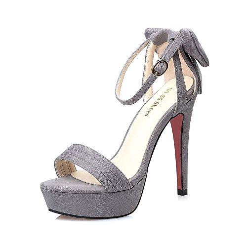 Fino Tacón Rocío Cuñas Xing Impermeable De Lin Verano Toe Mujeres Comprar Para Zapatos Zapatos La Las Plano Mujer Con De De Gray De Alto De Es Con Sandalias Noche vvPT0qw