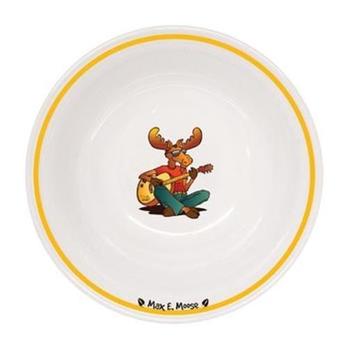 Durable Melamine Bowl 6-inch, Moose