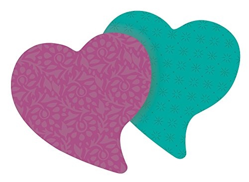 Post-it Super Sticky Notes, 3 x 3-Inches, Heart Shape, Assorted Colors, 2-Pads/Pack, 2-PACK