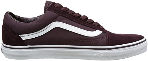 Old Adultos Iron Vans True White Suede Zapatillas Canvas Marrón Brown para Unisex Skool qZBFBdwX
