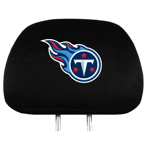 NFL Tennessee Titans Head Rest Covers, 2-Pack