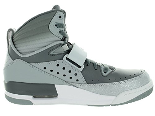 Nike Jordan Mens Jordan Flight 97 Cool Grijs / Pr Pktnm / Wlf Gry / Wht Basketbalschoen 11.5 Heren Us