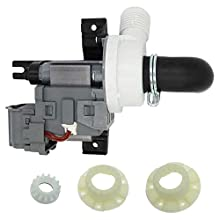 Siwdoy W10536347 Washer Drain Pump and W10820039 Hub Kit Compatible with Whirlpool Maytag Washer Replaces W10155921 W10049390 W10217134 AP5650269 W10281682 280145