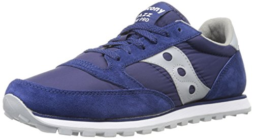 Saucony Jazz Low Pro - Saucony Originals Women's Jazz Low Pro Sneaker,Blue/Grey,11 M US