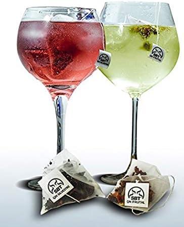 Aromas Naturales para tónicas y Ginebra Premium. Para tus fiestas, party, el mejor regalo,24 Bolsas