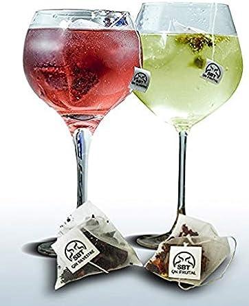 SABOREATE Y CAFE THE FLAVOUR SHOP Botánicos Frutales y Silvestres para Gin Tonic Especias Para Cócteles. Aromatizante natural para la ginebra y licores Blancos - 24 unidades: Amazon.es: Alimentación y bebidas