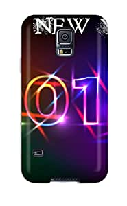 Forever Collectibles Happy New Year Hard Snap-on Galaxy S5 Case