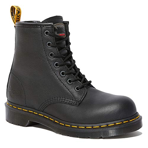 Dr. Martens - Women's Maple Zip Light Industry Boots, Black, 8 M US