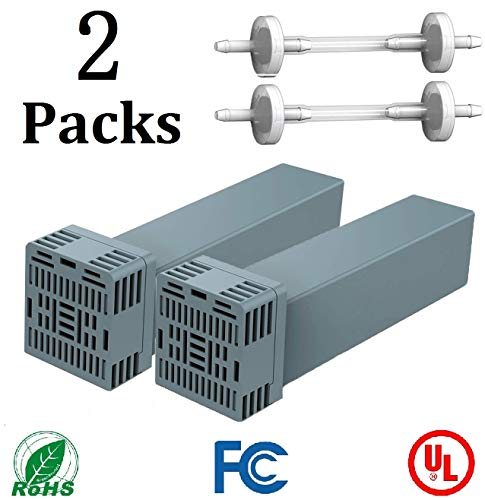 CPAP Filter Replacement Cartridge Filter Kit Compatible with Soclean 2 – Includes 2 Cartridge Filters with 2 Check Valve [2 Pack]