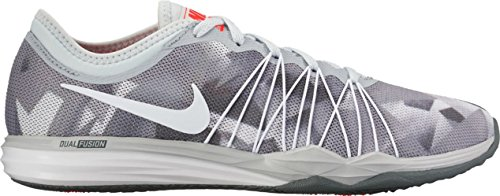NIKE W Dual Fusion TR Hit Prnt – Pure Platinum/White de Cool de Grey