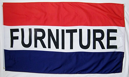 Furniture & For Sale Flags  3' X 5' Indoor Outdoor Business