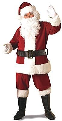 Rubie's Deluxe Ultra Velvet Santa Suit