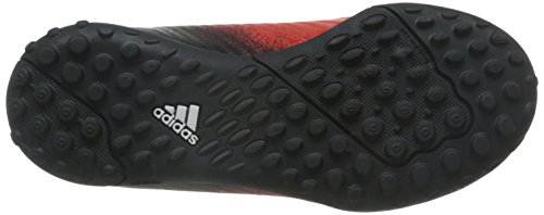 adidas X 16.3 Tf J, Botas de Fútbol para Niños rojo/blanco/negro