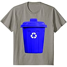 Recycling Can Funny Hilarious Halloween Costume T-Shirt