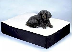 B006GREK2KZXL Snoozer Orthopedic Lounge Pet Bed, Small, Navy, All Fabric