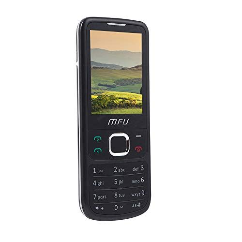 MFU Easy to Use Cell Phone for Seniors  Kids Unlocked 2.4inch Screen, Big Button, Large Font, 2 SIM, Suitable for The Elderly and Children to Use The Thin Body of The Big Button Machine