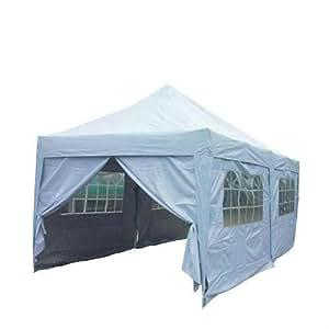 Generic of 20x1 Canopy Gazebo rproof 2 EZ Pop Up Waterproof Waterproof 20x10' Canopy Gaz Tent 6 Walls W/ Free bag ree bag Party Wedding alls W/ Free bag