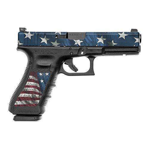 (GunSkins Pistol Accent Skin DIY Vinyl Camo Wrap Kit for Glock (Proveil Victory))