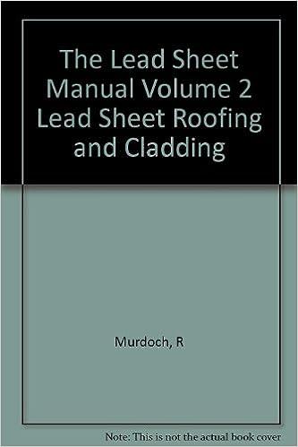 Lead sheet association complete manual.