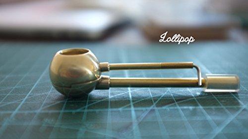 Lollipop Brass Pipe Cleanable Tobacco