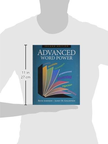 Advanced Word Power: Beth Johnson, Janet M. Goldstein ...